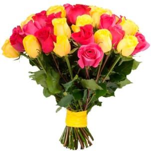 Розы Эквадор микс 2