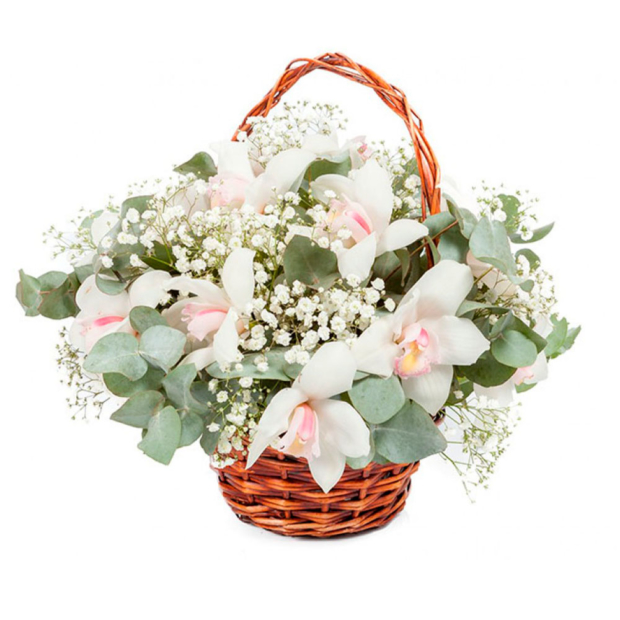 """Цветы в корзинке """"Искусство любви"""""""